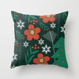 Holiday season decor Throw Pillow