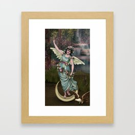 THE EMPRESS TAROT CARD Framed Art Print