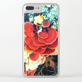 Mycology Clear iPhone Case