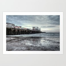 Pier, Clacton-on-Sea Art Print