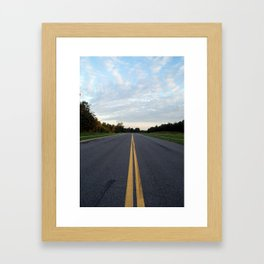 The Road Ahead Framed Art Print
