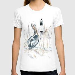 Tybee Island Pelican T-shirt