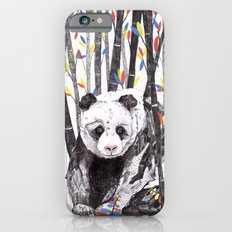 Panda Bear // Endangered Animals Slim Case iPhone 6