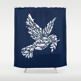 Peace? Shower Curtain