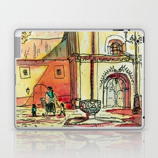 Templo San Francisco Laptop & iPad Skin