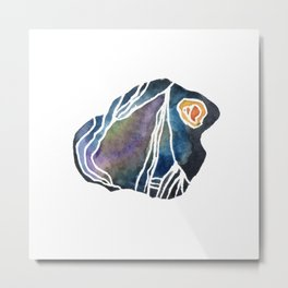 Schist - Pebble 2 Metal Print