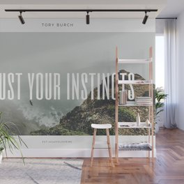 Tory Burch 2 Quotes Advice Trust Your Instincts Wall Mural