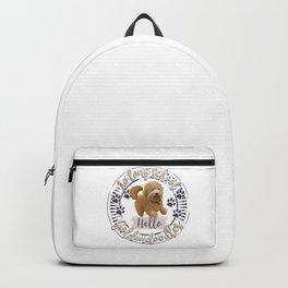 So Long School. Hello, Goldendoodles! Backpack