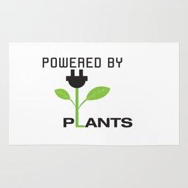 Powered by Plants Vegan Art Rug