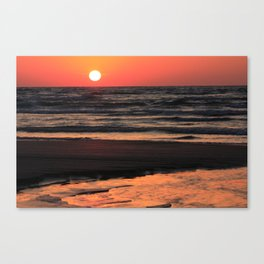 Sauble Sunset Product Canvas Print