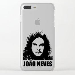 João Neves Clear iPhone Case