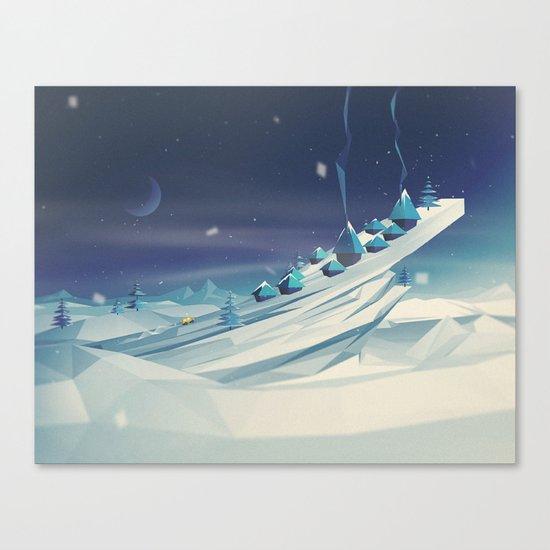 Home. Canvas Print