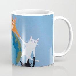 Cats Earth Day Coffee Mug