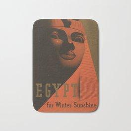 S. C. Allen & Company Ltd. - Poster, Egypt for Winter Sunshine 1937 Bath Mat