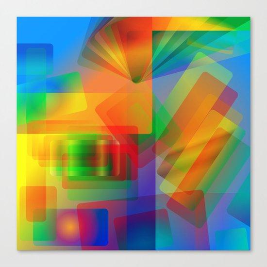 Alluvial Fan Canvas Print