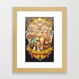 Djeneba Spiritum Framed Art Print