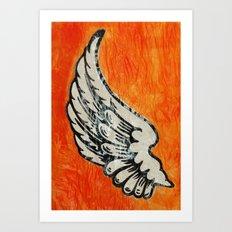 No Angel Art Print