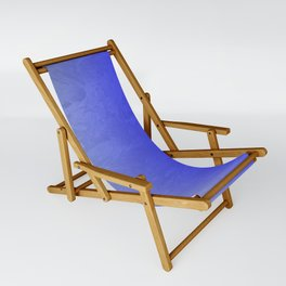 Blue Ice Glow Sling Chair
