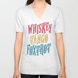 Whiskey Tango Unisex V-Neck