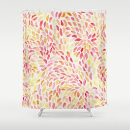 Sunburst Shower Curtain