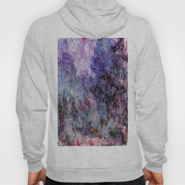 Monet : The House Seen From the Rose Garden Hoody