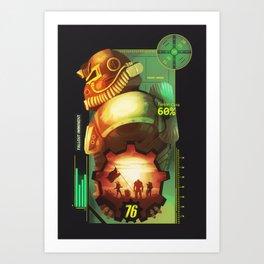 Fallout 76 Art Print