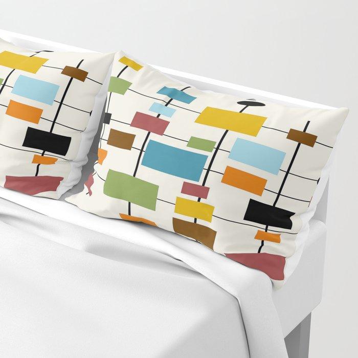 Mid-Century Modern Art 1.3 Pillow Sham
