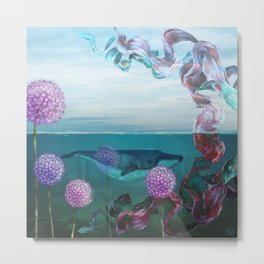 A Rising Tide Metal Print