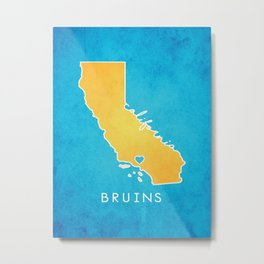 UCLA Bruins Metal Print