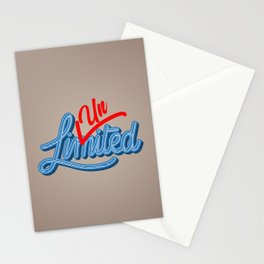 Unlimited | Unstoppable Stationery Cards