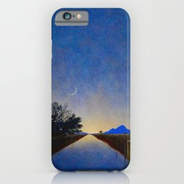 Hot Springs, Yavapai, Arizona landscape painting by Maxfield Parrish iPhone Case