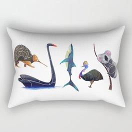 Australian animals Rectangular Pillow