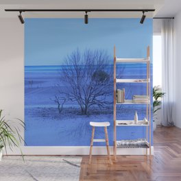 True Blue Wall Mural