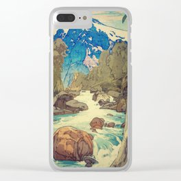 The Walk to Hokodoyama Clear iPhone Case