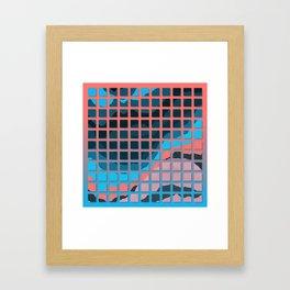 TOPOGRAPHY 2017-006 Framed Art Print