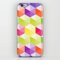 Hexagon - 02 iPhone & iPod Skin