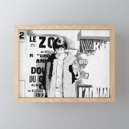 Vivre sa vie Framed Mini Art Print
