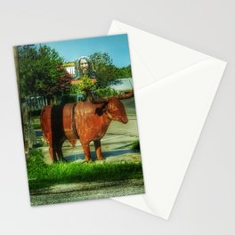 Country Meets City Stationery Cards