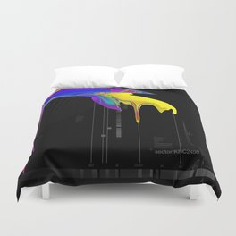anomaly in sector KRC2496 Duvet Cover