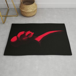 Red Cameo Rug