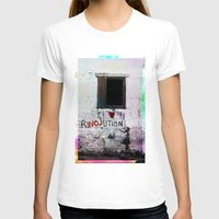 revolution T-shirts featuring rEVOLution by Bärdie D/Sign