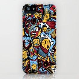 Doodle50 iPhone Case