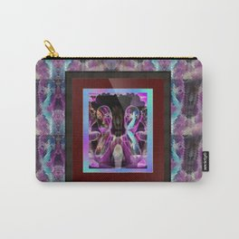 """""""Carny Twins on mirror tiles"""" by surrealpete Carry-All Pouch"""