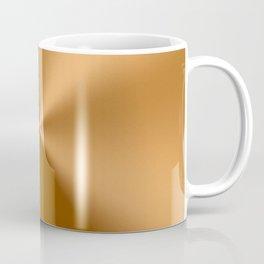 Copper Tones Stainless Steel Print Coffee Mug