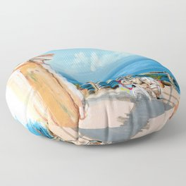 Traveler Floor Pillow