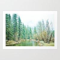 yosemite Art Prints featuring Yosemite by eugenia k. photography