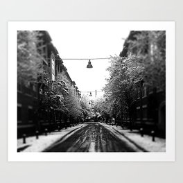 Addison Cold Art Print