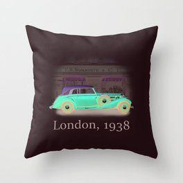 London 1938 Throw Pillow