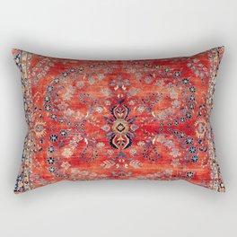 Sarouk Arak West Persian Carpet Print Rectangular Pillow