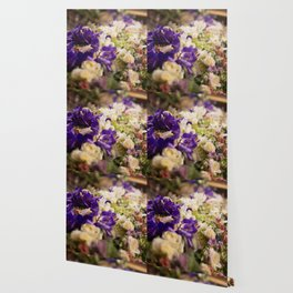 Bouquet of flowers, violets Wallpaper